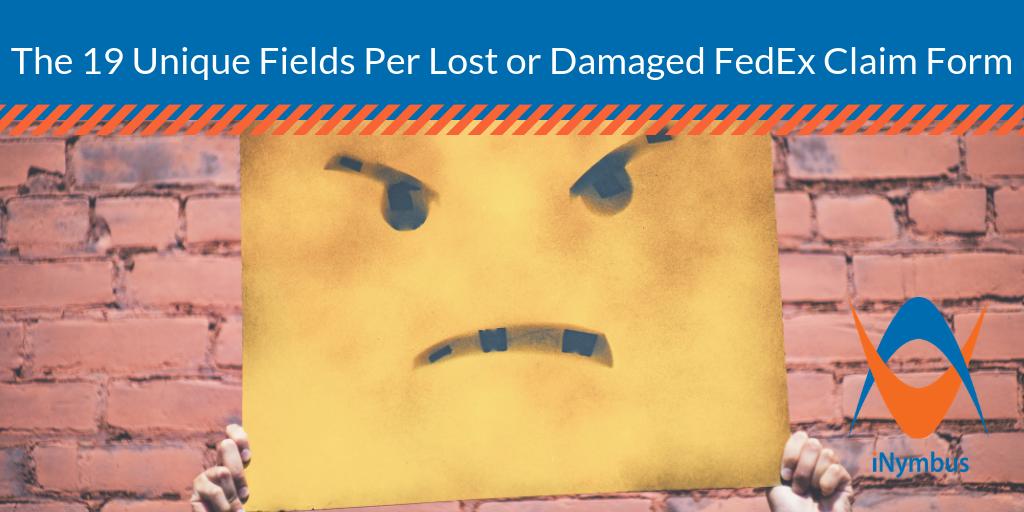 19 Unique Fields Per Lost or Damaged FedEx Claim Form Blog Header 1024 x 512 - Nov 2018