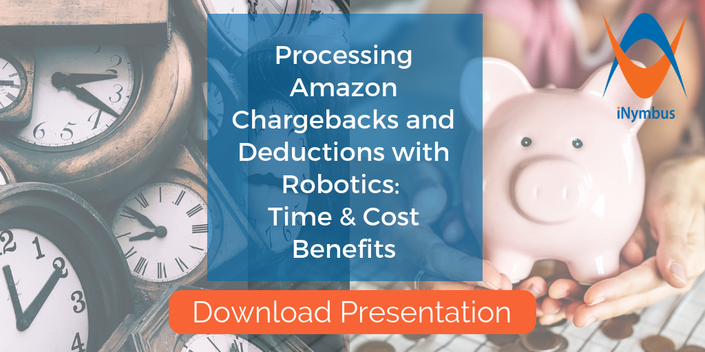 Processing Amazon Chargeback and Deductions with Robotics