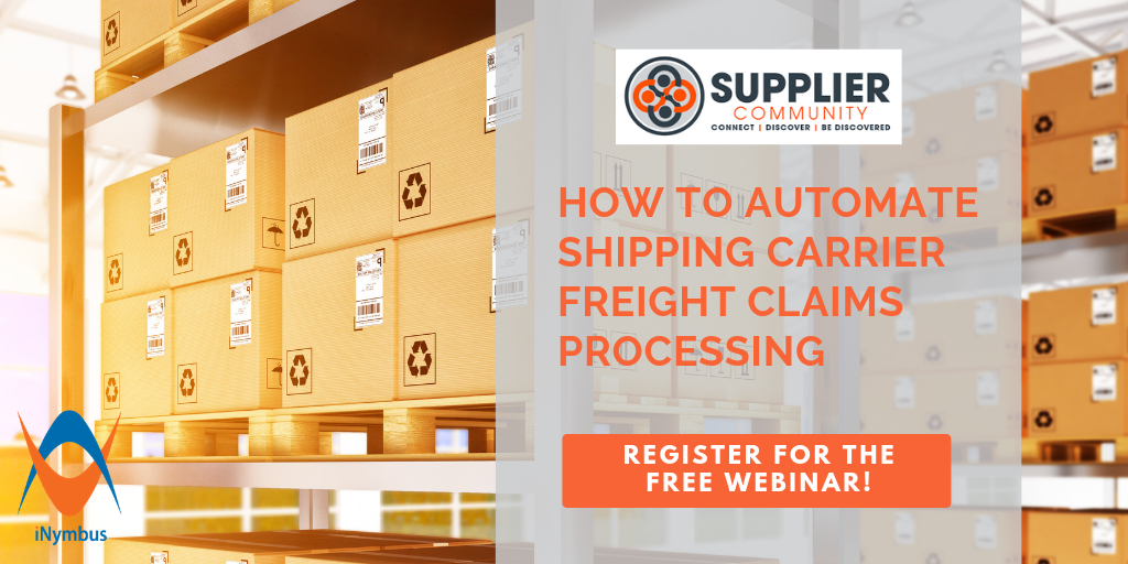 Supplier Community Shipping Claims Webinar