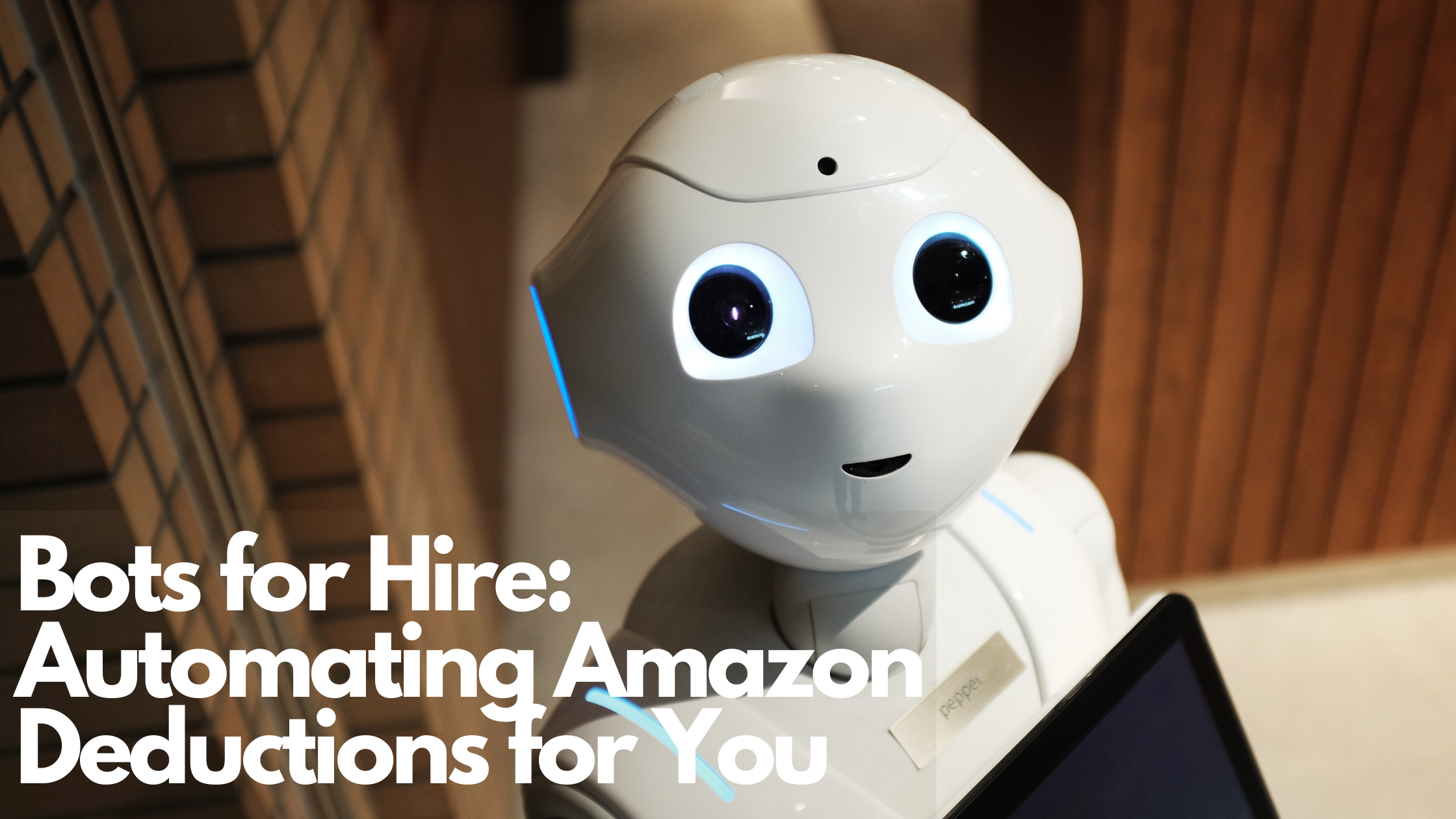 Bots for Hire: Automating Amazon Deductions for You