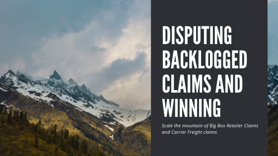 Disputing Backlogged Claims and Winning!
