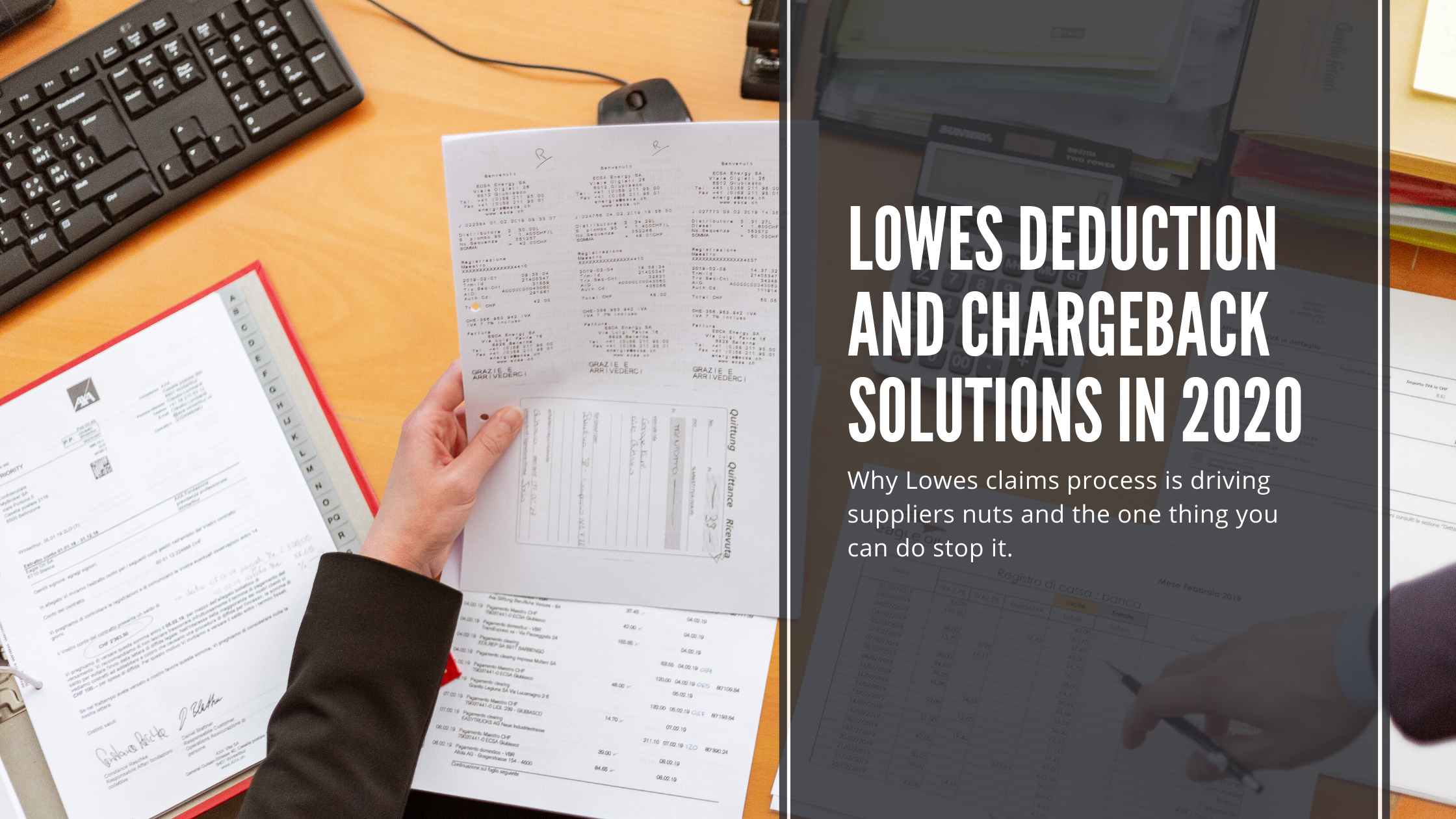 Lowes Deduction and Chargeback Solutions in 2020