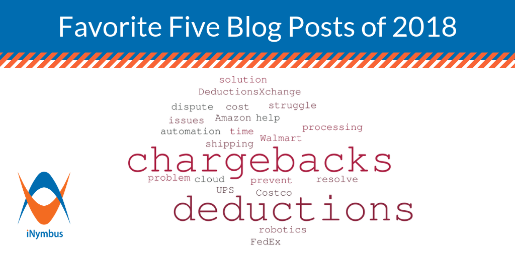 Favorite Five Chargeback and Deduction Blog Posts of 2018