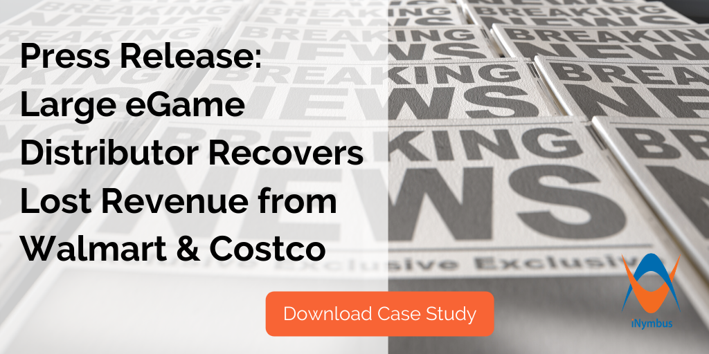 Press Release: eGame Distributor Automates Retailer Shortage and Returns Claims to Recover Lost Revenue