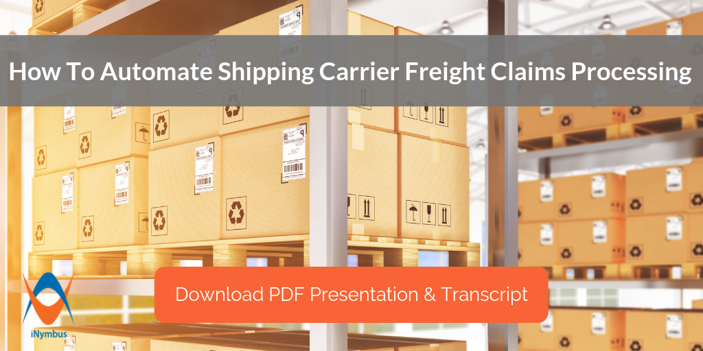 Automate Shipping Carrier Freight Claims: Supplier Community Presentation Now Available!